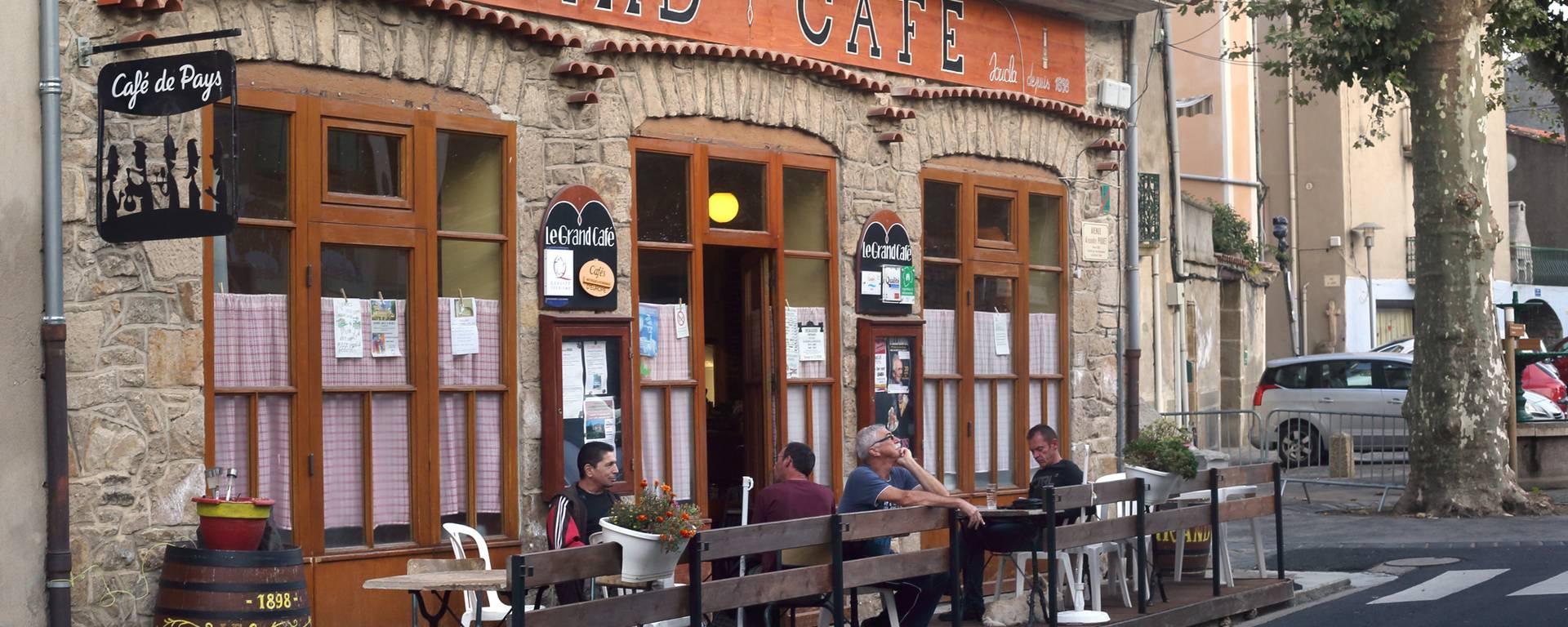 Café historique Pays d'Art et d'Histoire Haut Languedoc et Vignobles