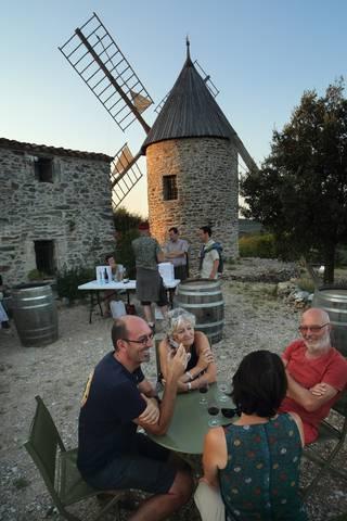Moulins de Faugères, soirée spectacle et dégustation ©G.Souche