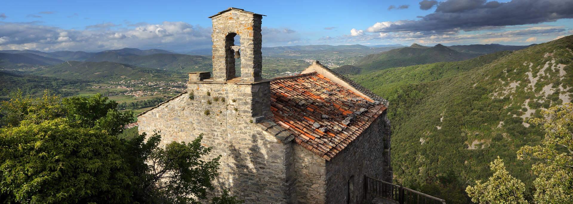 Vue depuis la Chapelle du site de Mourcairol ©G.Souche