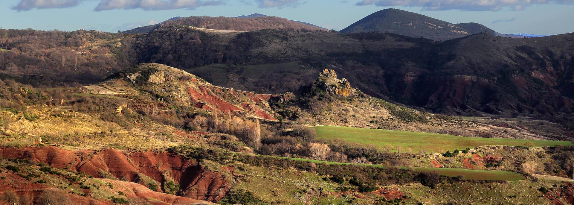 Les Ruffes rouges du Salagou ©G.Souche
