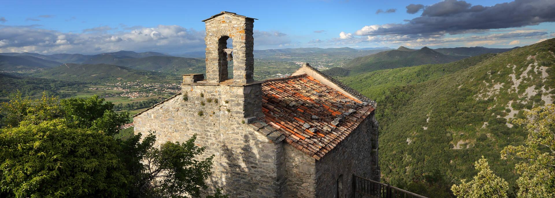 Chapelle castrale Pays d'Art et d'Histoire Haut Languedoc et Vignobles