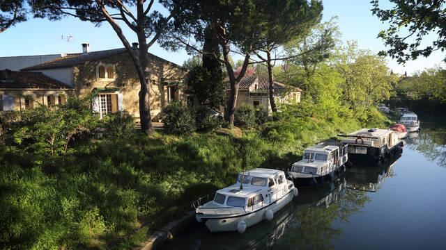 Le canal du Midi ©G. Souche