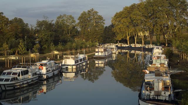 Le Canal du Midi © G.Souche