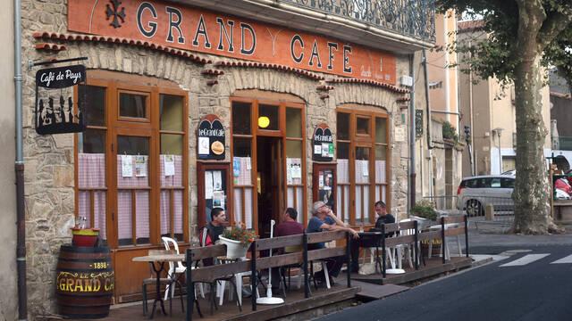 Café de Pays à Camplong ©G.Souche