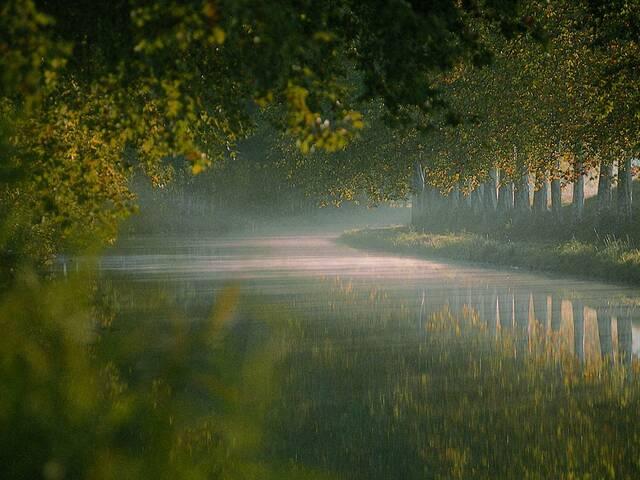 Le canal du Midi © L. Micola - Pays d'Art et d'Histoire Haut Languedoc et Vignobles