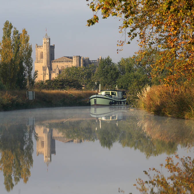 Canal du Midi Capestang©G.SouchePHLV