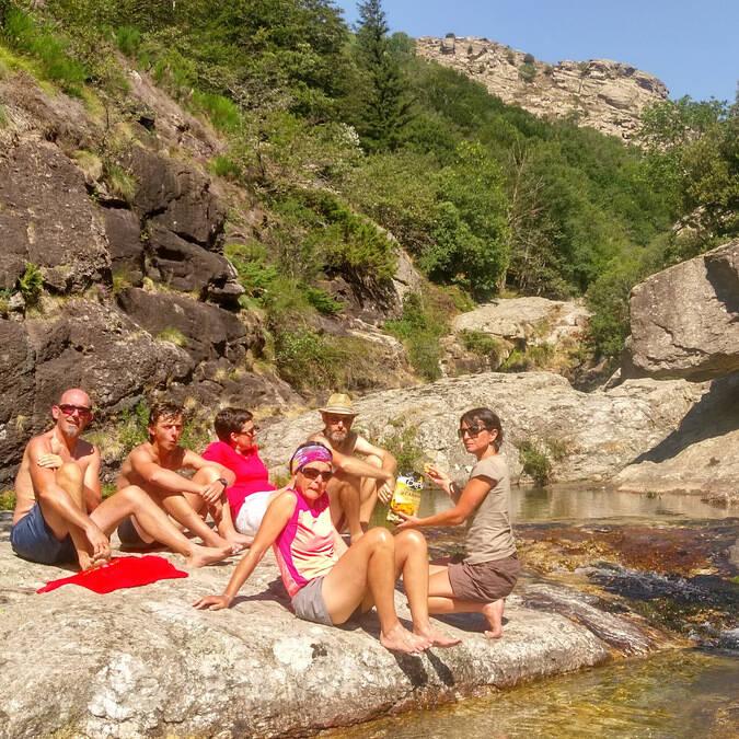 gorges de Colombières randonnée famille