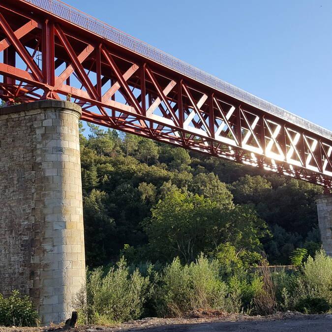Pont type Eiffel Pays d'Art et d'Histoire Haut Languedoc et Vignobles