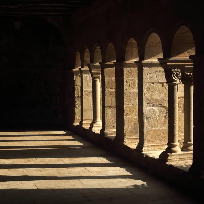 Cloître Languedoc France
